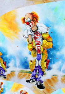 Clown Jerome 2 von Barbara Tolnay
