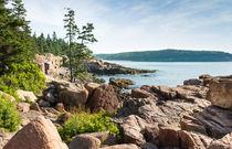 Otter Rocks Coastline by John Bailey