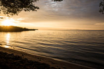 Sonnenuntergang am Lake Victoria / Tansania von Andrea  Hergersberg