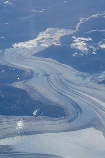 Aerial view of a glacier von Víctor Suárez