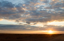 Sonnenuntergang Amboseli NP von Andrea  Hergersberg