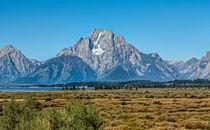 Mount Moran von John Bailey