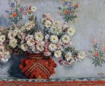 Chrysanthemen von Claude Monet