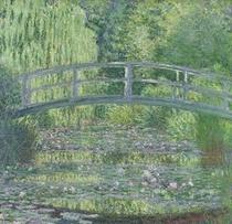 Seerosenteich, Grüne Harmonie von Claude Monet