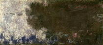 The Waterlilies - The Clouds (right side) by Claude Monet