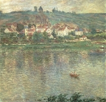 Vetheuil von Claude Monet
