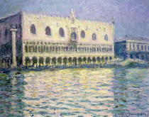 The Ducal Palace by Claude Monet