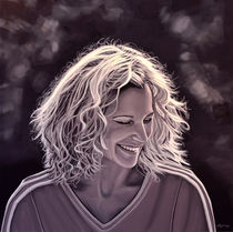 Heike Henkel painting by Paul Meijering