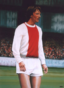 Johan Cruijff painting by Paul Meijering
