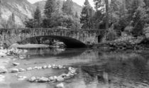 Clark Bridge In Yosemite Valley von John Bailey