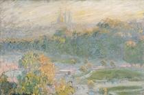 Jardin des Tuileries, Studie von Claude Monet