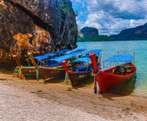 the colourful boats  von Ahmed Rashed