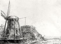The Mill by Rembrandt Harmenszoon van Rijn