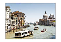 Venedig - Canal Grande by Rainer F. Steußloff