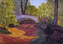 Die Brücke im Park by Rena Rady