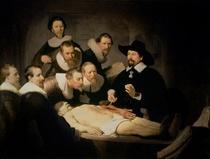 Die Anatomie des Dr. Tulp von Rembrandt Harmenszoon van Rijn