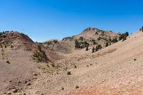 Hiking On Mount Lassen by John Bailey