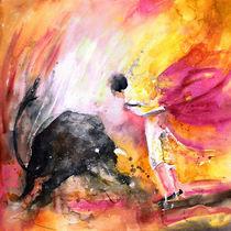 Angry Little Bull von Miki de Goodaboom