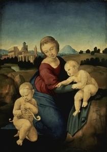Madonna Esterhazy von Raffaello Sanzio of Urbino