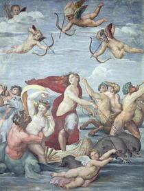 Der Triumph der Galatea von Raffaello Sanzio of Urbino