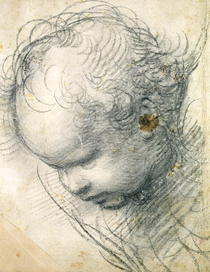 Engelskopf von Raffaello Sanzio of Urbino