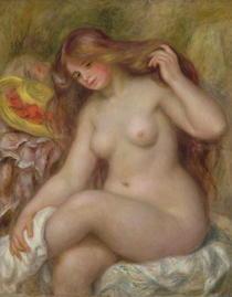 Badende von Pierre-Auguste Renoir