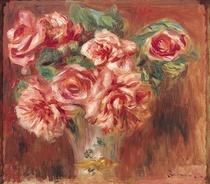 Rosen in einer Vase von Pierre-Auguste Renoir