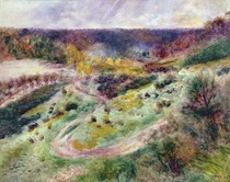 Landscape at Wargemont by Pierre-Auguste Renoir