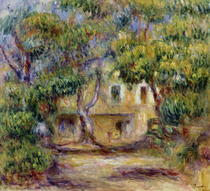 The Farm at Les Collettes by Pierre-Auguste Renoir
