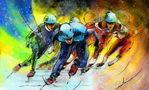 Ice Speed Skating 01 von Miki de Goodaboom