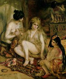 Harem in Montmartre von Pierre-Auguste Renoir