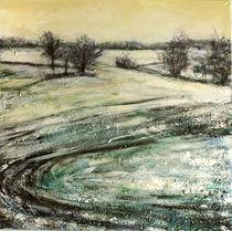 Durch verschneite Felder von Renée König