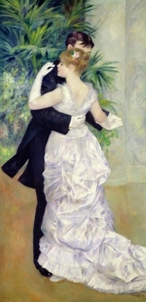 Dance in the City by Pierre-Auguste Renoir