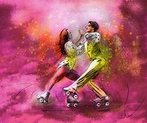 Artistic Roller Skating 01 von Miki de Goodaboom