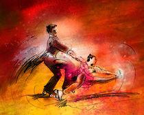 Artistic Roller Skating 02 von Miki de Goodaboom