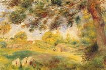 Frühlingslandschaft von Pierre-Auguste Renoir