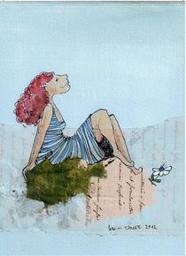 Blaue Pause von Karin Tauer