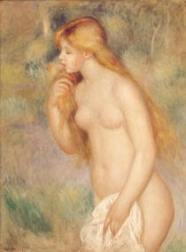 Standing Bather by Pierre-Auguste Renoir