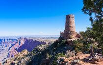 Desert View Watchtower Overlook von John Bailey