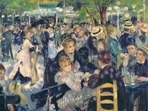Ball im Moulin de la Galette von Pierre-Auguste Renoir