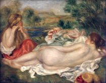 Zwei Badende  von Pierre-Auguste Renoir