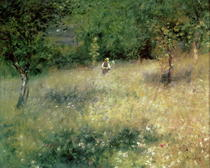 Spring at Chatou by Pierre-Auguste Renoir
