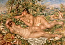 The Bathers by Pierre-Auguste Renoir