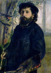 Portrait des Claude Monet von Pierre-Auguste Renoir