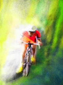Le Tour de France 12 von Miki de Goodaboom