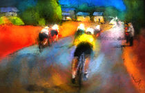 Le Tour de France 14 von Miki de Goodaboom