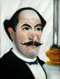 Self portrait by Henri J.F. Rousseau