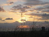 Sunrise over sea von amineah