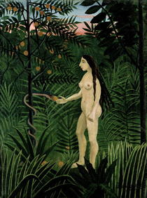 Eve by Henri J.F. Rousseau