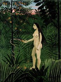 Eva von Henri J.F. Rousseau